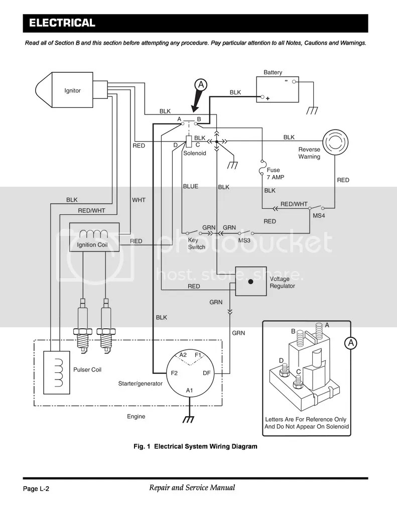 Ez Go Workhorse Wiring Diagram