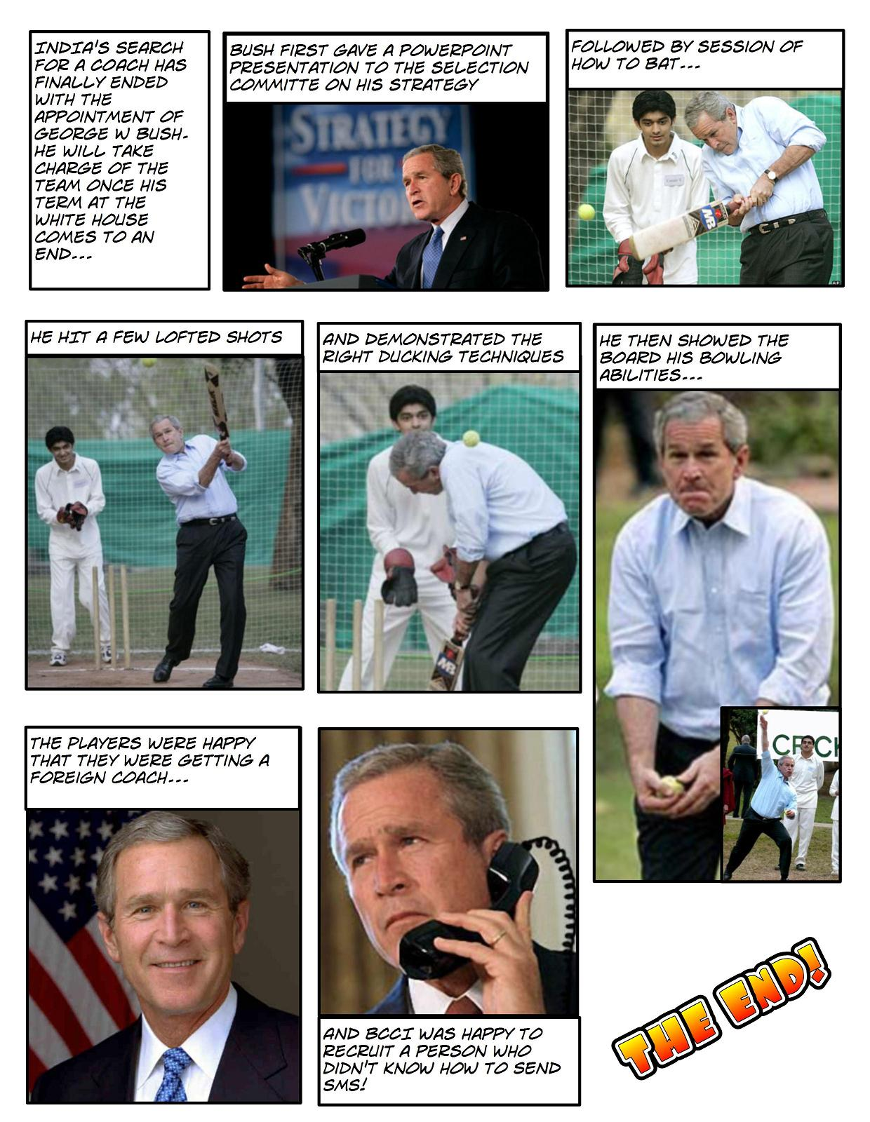 Bush as Coach