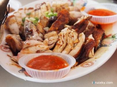 Roast Chicken & Roast Pork