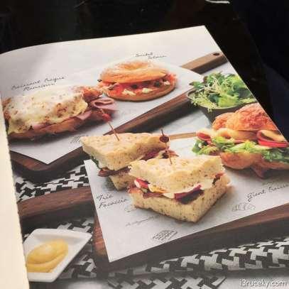 la baguette menu