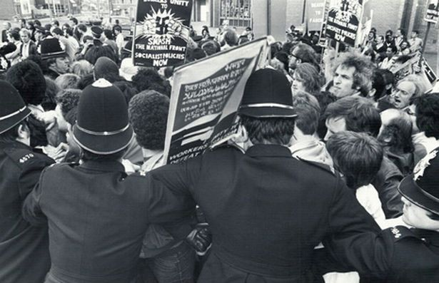 National Front March, August 1980