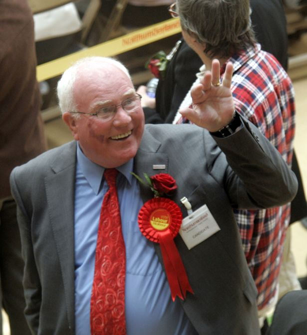 Blyth MP Ronnie Campbell
