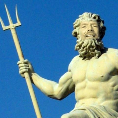 Richard Branson as Poseidon