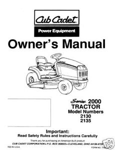 Cub-Cadet-Owners-Manual-Model-No-2130-2135