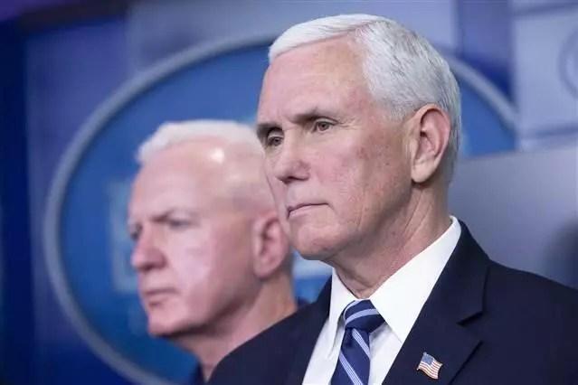 ABD Lider Yardımcısı Mike Pence'in corona virüsü testi negatif çıktı 1