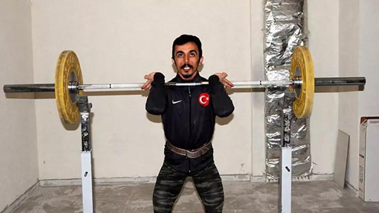 Ulusal halterci Muammer Şahin: Olimpiyatlara konutumun sığınağında devam ediyorum 1