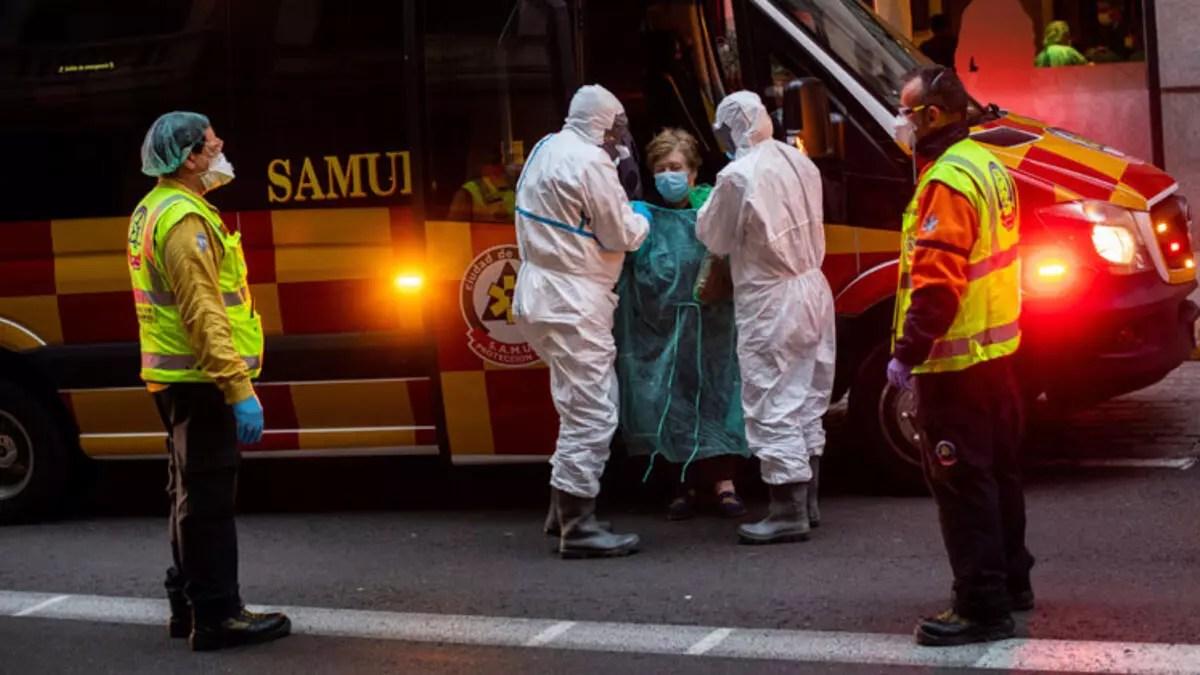 Son dakika haberler... İspanya'da 517 kişi daha Corona nedeniyle hayatını kaybetti 1
