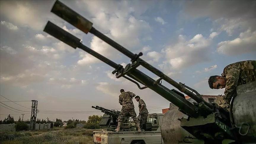 Libya'da Hafter güçlerine ağır darbe 1