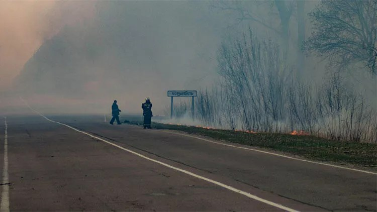 SON DAKİKA HABERİ: Ukrayna yangın şokunu yaşıyor! Çernobil nükleer santrali dünyayı bir defa daha tehdit ediyor 1