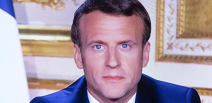 Emmanuel Macron'un corona virüs yayını, Fransa Dünya Kupası rekorunu geçti! 1