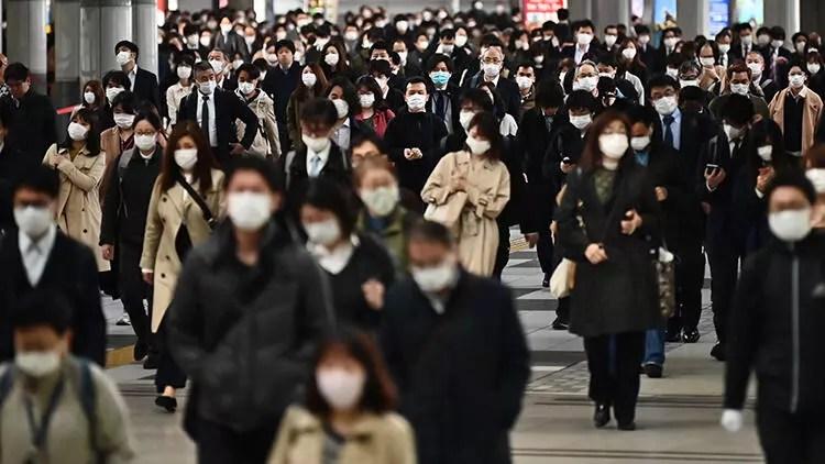 Japonya genelinde Corona Virüs nedeniyle OHAL duyuru edildi 1