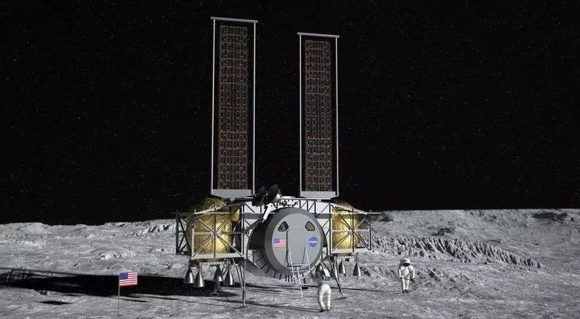 NASA'nın Ay'a beşerli iniş projesinde kıymetli misyon 1