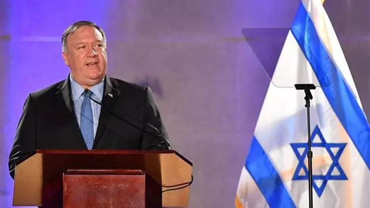 ABD Dışişleri Bakanı Pompeo'dan İsrail'e zamanlaması manidar ziyaret 1