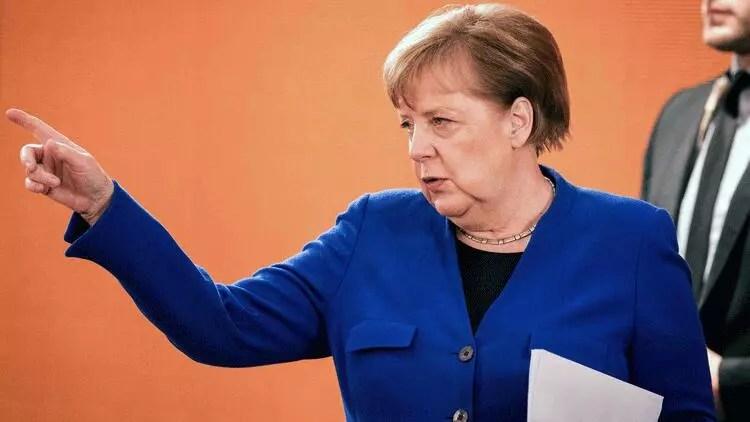 Son dakika haberler: Merkel'den Rusya'ya sert tenkit 1