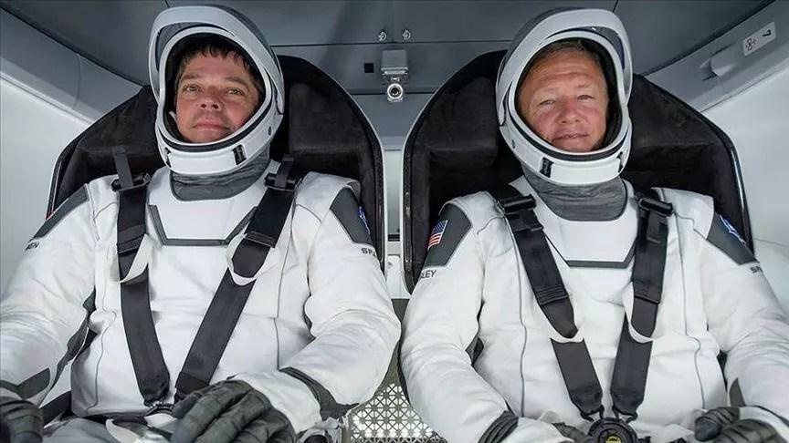 Astronotlar SpaceX'in beşerli test seferi için karantinaya girdi 1