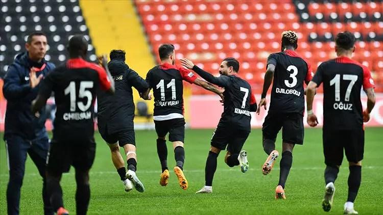 Gaziantep FK tempo artırdı 1