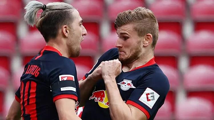 Mainz 0-5 Leipzig 1