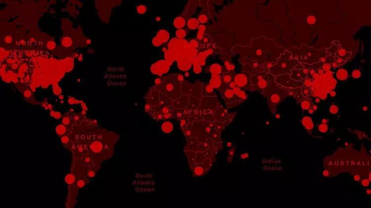Koronavirüs nedeniyle can kaybı 346 bin 761'e yükseldi 1