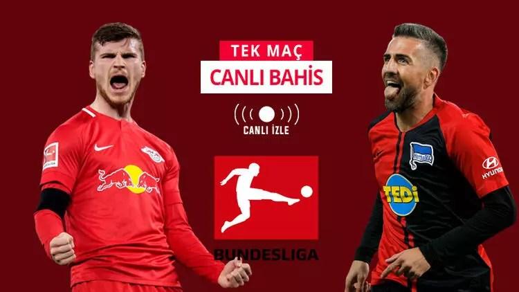 İkisi de formda, ikisi de puan kaybına tahammülsüz! RB Leipzig'e Hertha karşısında iddaa'da... 1