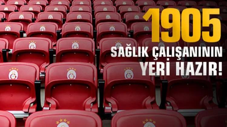 Galatasaray'dan 1905 sıhhat çalışanına jest 1