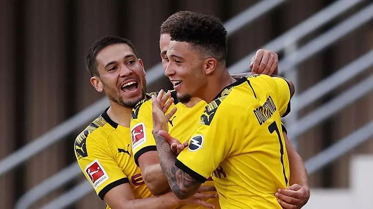 Paderborn 1-6 Borussia Dortmund 1