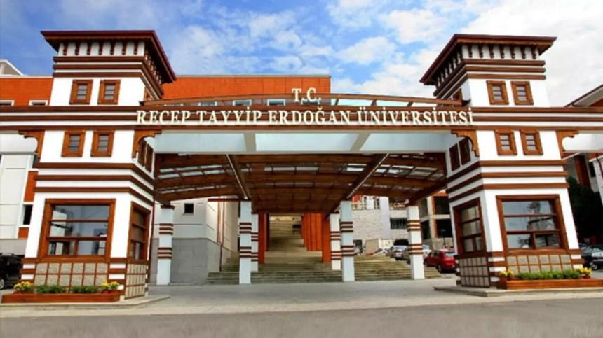 Recep Tayyip Erdoğan Üniversitesi'ni seçip, ilk 50 bine girene maaş gibi  burs - Haberler