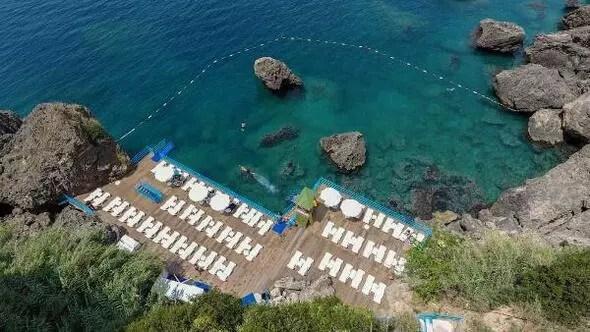 Antalya Haberleri - Mavi bayraklı Falez plajları açıldı - Yerel Haberler