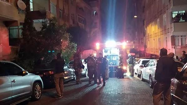 Apartmanda yangın çıktı: 5 kişi dumandan etkilendi