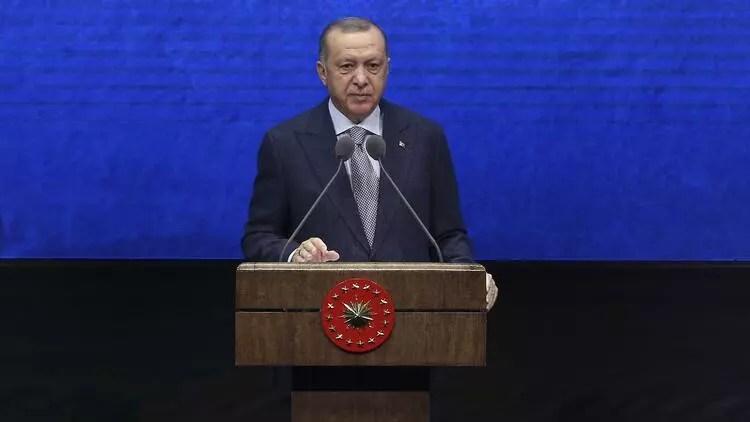 Son dakika... Cumhurbaşkanı Erdoğan'dan Kanal İstanbul açıklaması