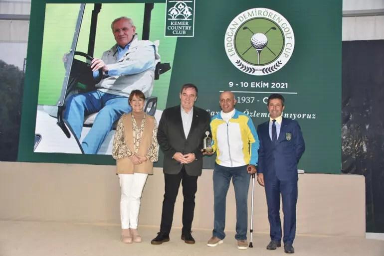 Erdoğan Demirören Golf Turnuvası tamamlandı