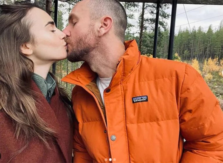 Düğünden bir ay sonra fırsat buldular: Ünlü oyuncunun balayı pozları