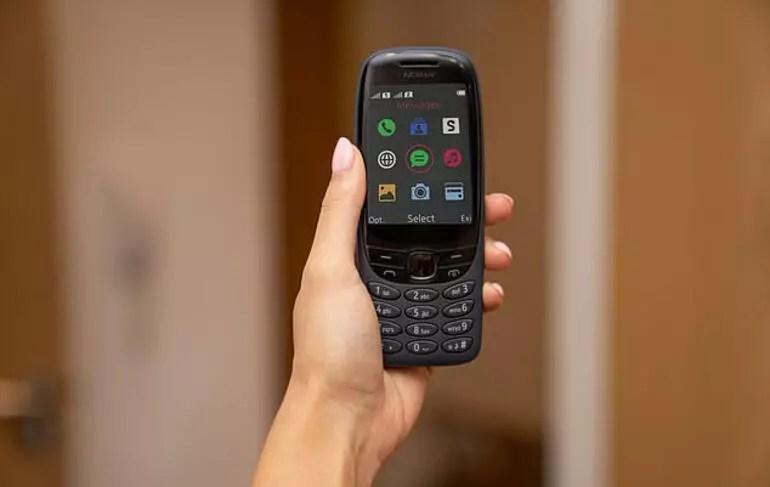 Nokia 6310 'yılan' oyunuyla birlikte geri döndü