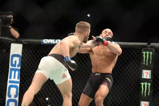 Jamie Carragher watches Conor McGregor beat Eddie Alvarez