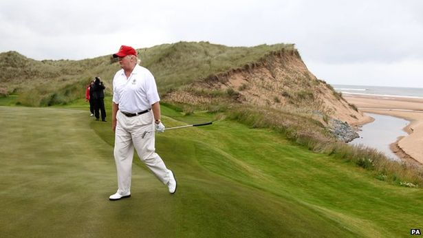 Donald Trumps Irish resort is hiring staff on the cheap