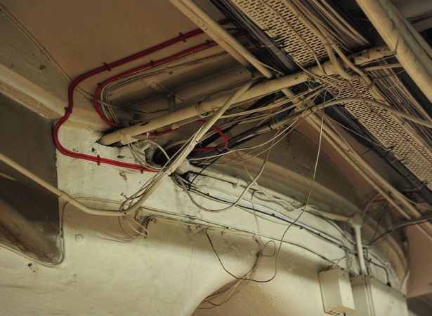 Exposed Wiring In Basement