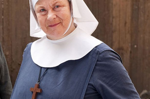 Call the midwife Pam Ferris  Mirror Online