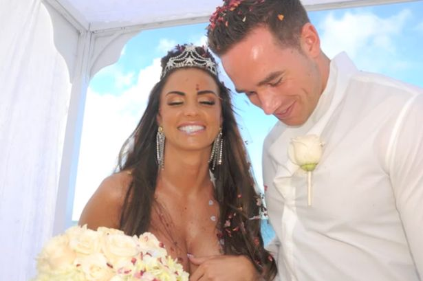 Katie Price exclusive wedding photos and sings Saved The