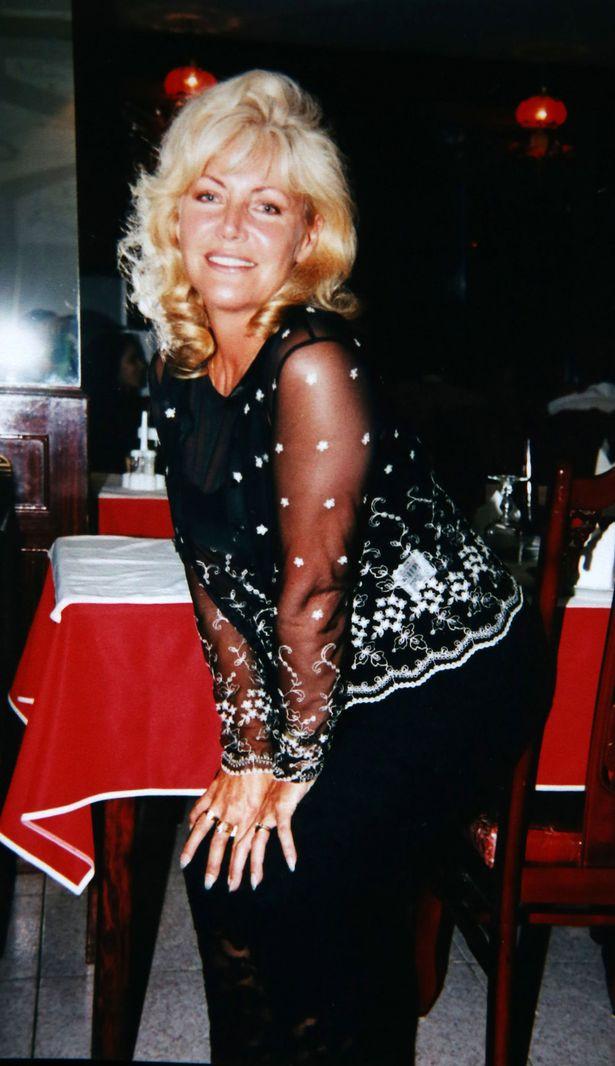 Patricia Moss (60) former model taken in Lisbon in 1999