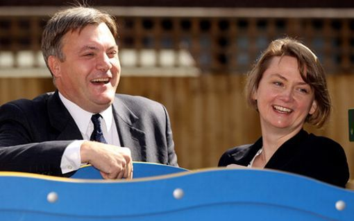 Ed Balls and Yvette Cooper (Pic: Getty)
