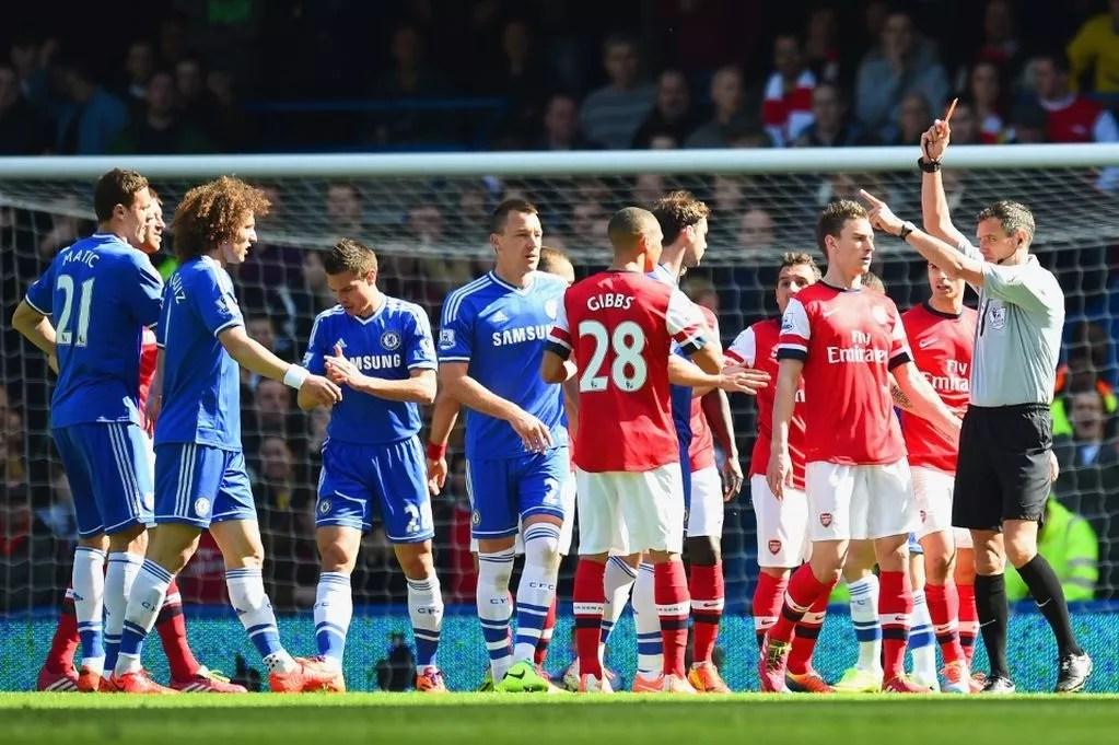 Hasil Chelsea vs Arsenal