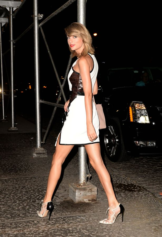 All Grown Up Taylor Swift Shows Off Her Never Ending Pins