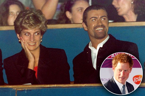 Princess Diana almost outed George Michael to young Harry