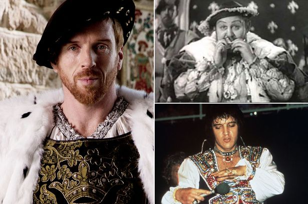 Image result for Henry VIII & Elvis