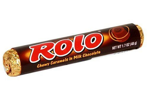 A tube of Rolo's