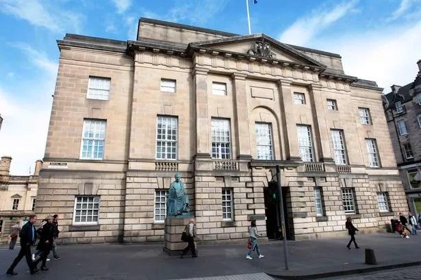 Edinburgh High Court on the High Street, Edinburgh