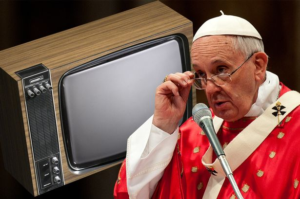Image result for pope tv