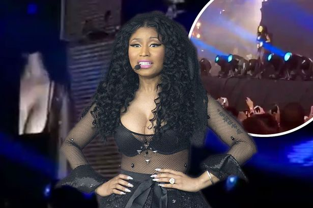 Nicki Minaj FINALLY shows up for ONE song at Wireless