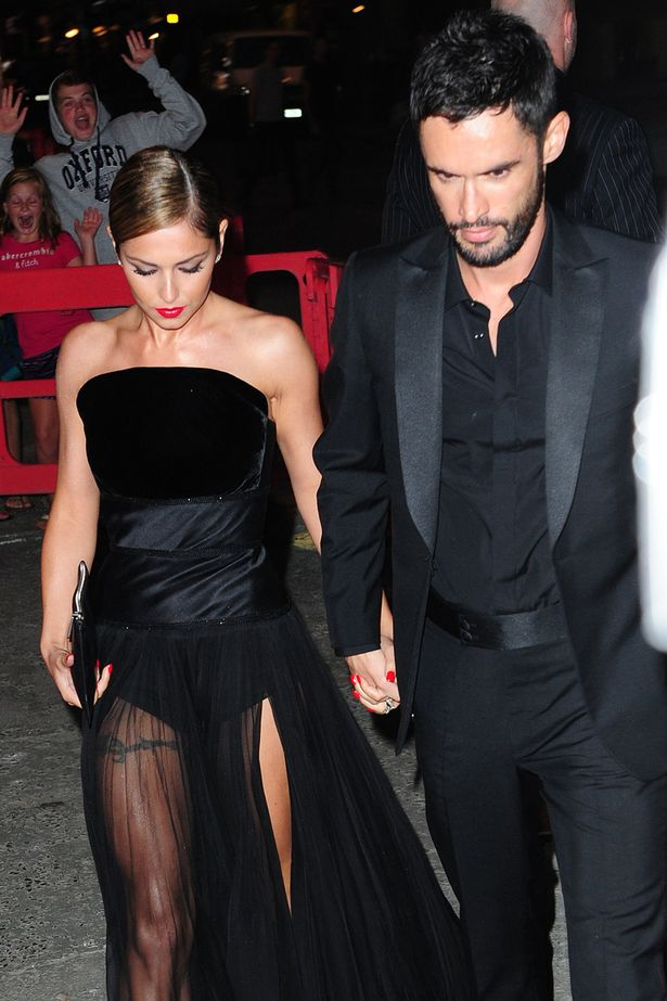 Cheryl and husband Jean-Bernard Fernandez-Versini