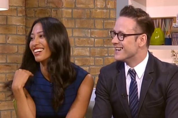 This Morning - 24th July 2015 - Strictly Come Dancing married dancers Karen Hauer and Kevin Clifton