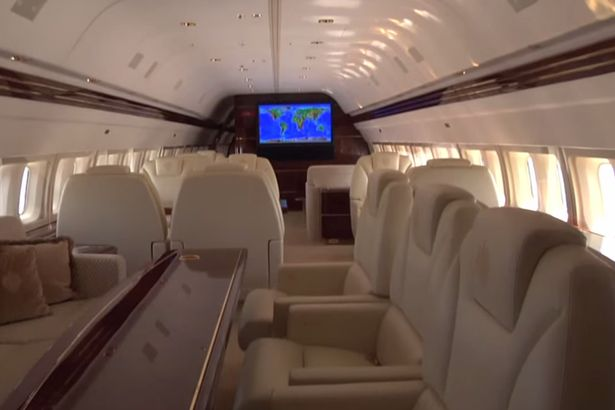 Inside Donald Trumps private jet